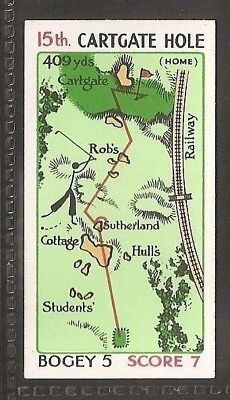 Churchman-Can You Beat Bogey At St Andrews (No Overprint)-#45- Mr Rabbit