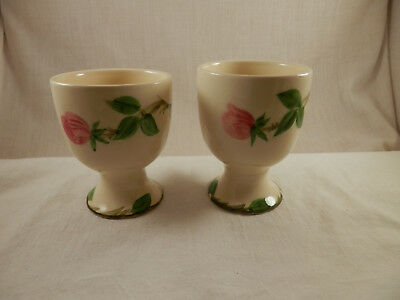 Franciscan Desert Rose Egg cup set of 2  RARE