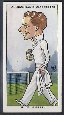Churchman-Sporting Celebrities-#44- Tennis - Austin