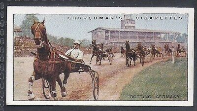 Churchman-Sports & Games In Many Lands-#08- Trotting - Germany