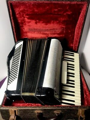 Scandalli Piano Accordion 120 bass 39 Keys 192/68 Made In Italy Squeezebox