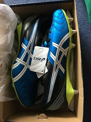 asics leathal tackle rugby boots mens uk14