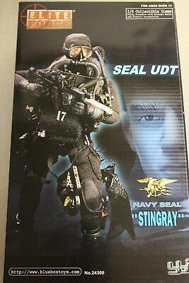 Action Figur 1/6, Elite Force Navy Seal Stingray (237)
