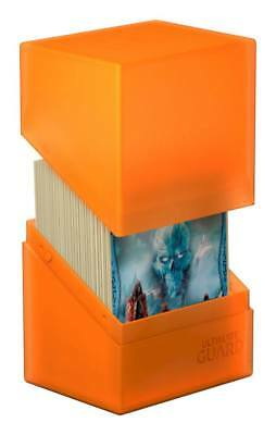 Ultimate Guard - Boulder Deck Case 80+ Poppy Topaz - Gaming Card Box for Archive
