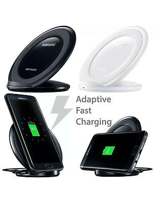 Fast Qi Wireless Charger Charging Pad Stand  for Samsung Galaxy S8,S9,S6/S7 Edge
