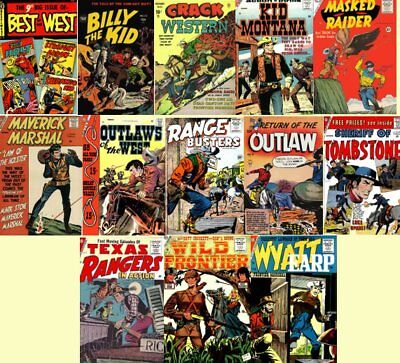 Western Comics Golden Age Cowboys, Outlaws 173 Issues on DVD, Disk 3