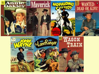 Western Comics Golden Age Cowboys, Outlaws 302 Issues on DVD, Disk 5