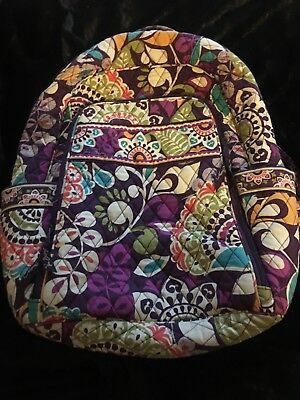 Vera Bradley - Large Backpack with Laptop Carrier! - Gently Used - Authentic!