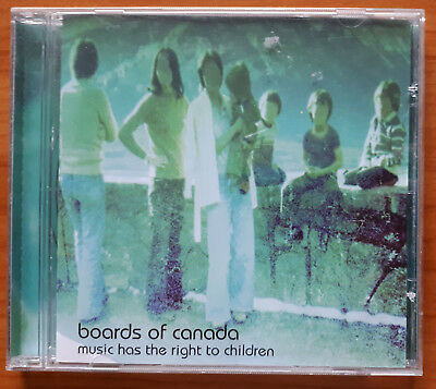 boards of canada - music has the right to children - cd - warp 1998