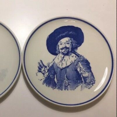 Vintage Unique Item Delft Royal Hand painted Finest China Wall Dish Plate 6/1
