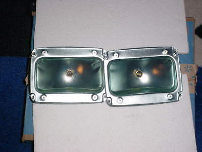 1 pair of tail light housings with plug for 1965-66 ford mustang