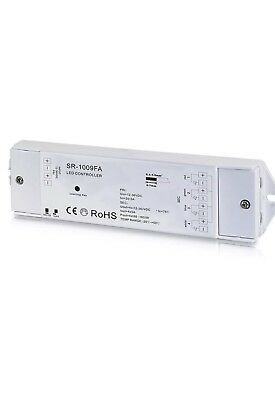 LED lighting controll systems receiver 12-36V 4x5A, Perfect-RF