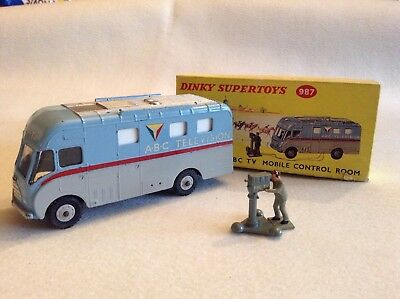 Dinky 987 ABC TV Mobile Control Room