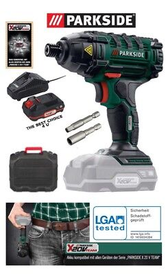 Powerful 20V Impact Driver ,Battery,Charger And Case Included