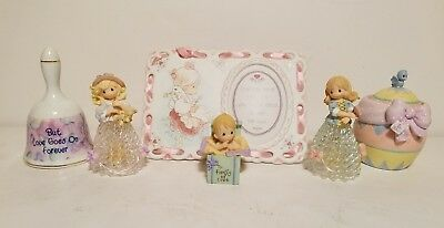 Precious Moments Lot of 6 Misc Peices