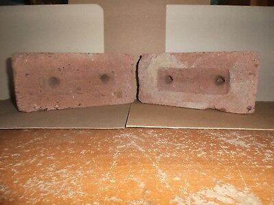 Old Bricks Unknown / Unbranded Lot Of 2