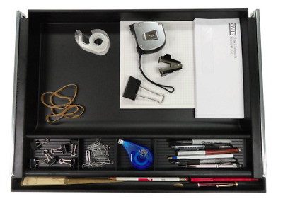 Under Desk Organizer Executive Sliding Storage Attachable Drawer Table Below NEW