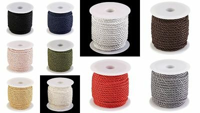 1 Roll approx. 20m Cord 5 mm Cord cord Cotton cord Sewing Craft