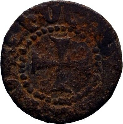 CRUSADERS. Cilician Armenia Ae Pogh, As found not cleaned !!!!