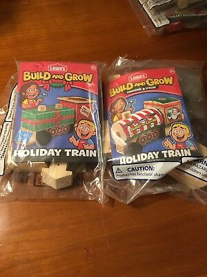 Lowes build and grow Holiday train