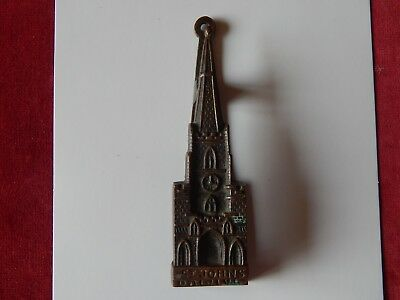 Vintage St Johns Bristol Reclaimed Brass Door Knocker Old