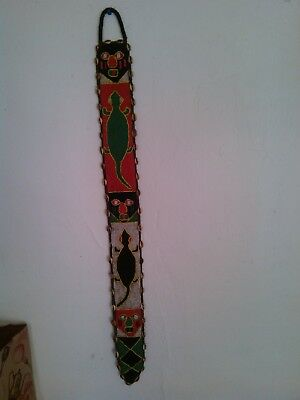 Antique Authentic African tribal belt, hand made from West Africa. Great conditi