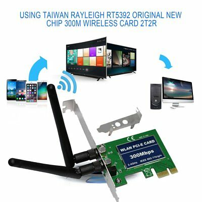 WLAN PCI-E Card 300Mbps Transmit 2.4GHz IEEE 802.11b/g/n Wifi Network Card DF
