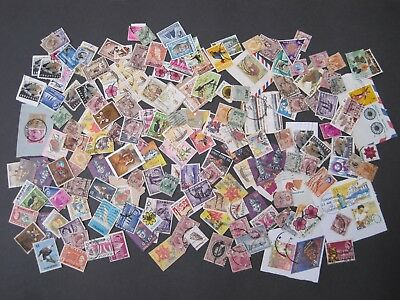 Malaysia/Singapore Collection/Kiloware 175+ est stamps. Mixed Eras and Values.
