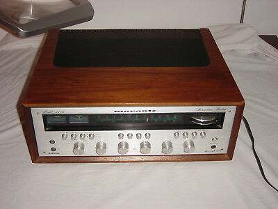 Marantz 2270 Receiver Silver Face With Wood Cabinet Works Great Cleaned Tested