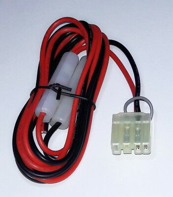 [PP701] Heavy Duty DC Power Lead for Tait T2000 Mobiles - Car Battery to Radio