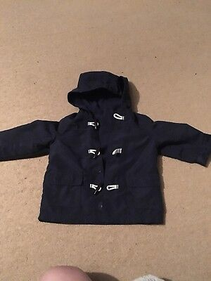 Baby Boys Thin Coat Age 9-12 Months