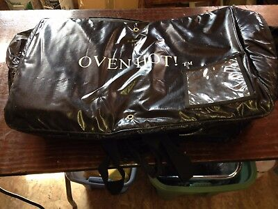 """Oven Hot Food Delivery Bag 24"""" wide x 16"""" Deep x 16"""" Tall"""