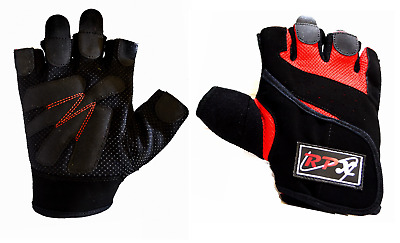 RPX Weight Lifting Bodybuilding Gym Gloves Training Fitness Exercise Workout