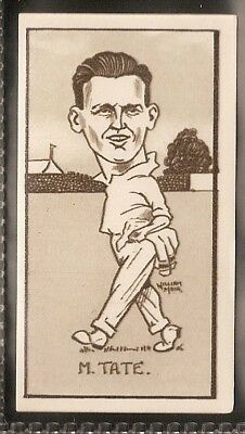 Hill-Caricatures Of Famous Cricketers-#23- Sussex - Tate