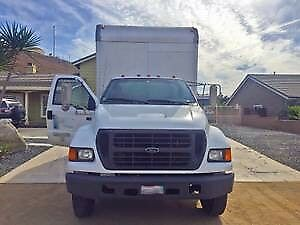 NO RESERVE - 20' Box Truck, Lift Gate - F-650 XL Super Duty - Great Truck