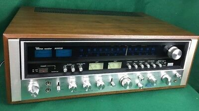SANSUI 9090DB VINTAGE STEREO RECEIVER PRO SERVICED *** Minty *** Superb ***