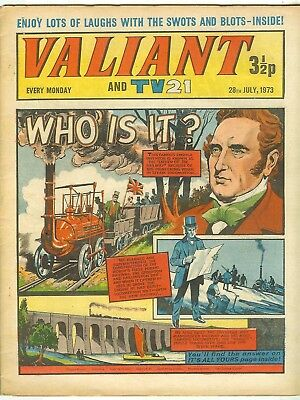Valiant 14th May 1966 (high grade) Steel Claw, Kelly's Eye -with free supplement