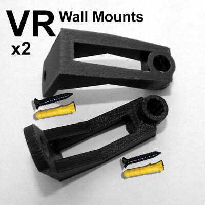 For Oculus Rift CV1 Sensors, 2 Wall Mounts plus fittings.
