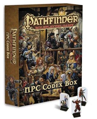 Paize Pathfinder RPG: NPC Codex Box (Pathfinder Pawns) - Un-punched!