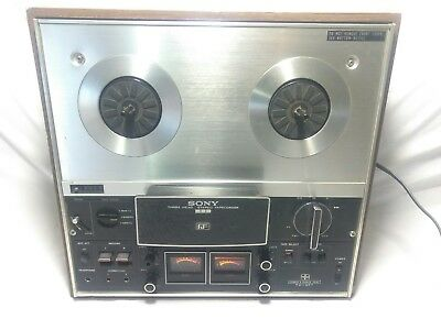 vintage sony tc-377 reel to reel tape deck player recorder tapecorder three head