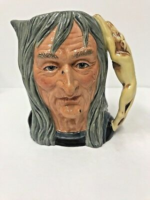 Kevin Francis & Royal Doulton Toby Jug The Pendle Witch D6826