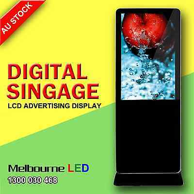 """42"""" HD Floor Stand Digital Signage LCD Advertising Player Display Screen USB"""