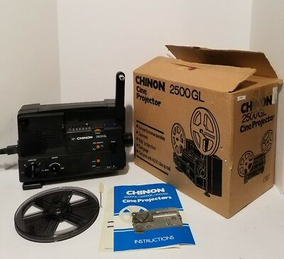Vintage Chinon 2500Gl Motion Picture Cine Projector