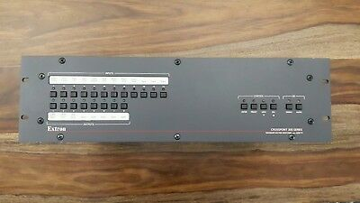 Extron CrossPoint 300 XPT300 128HVA Wideband Matrix Switcher with ADSP 60-220-16