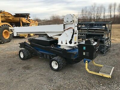 Skylift Mini  Digger Backyard Derrick Kubota Diesel