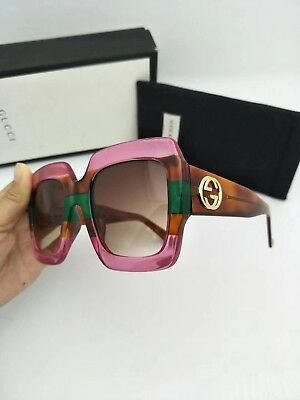 5a46adaaacd NEW AUTHENTIC GUCCI Sunglasses GG178S Women s Transparent Green ...