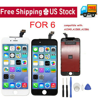 Replacement LCD Touch Screen Digitizer Assembly Kit Lot A1549 A1586 for iPhone 6