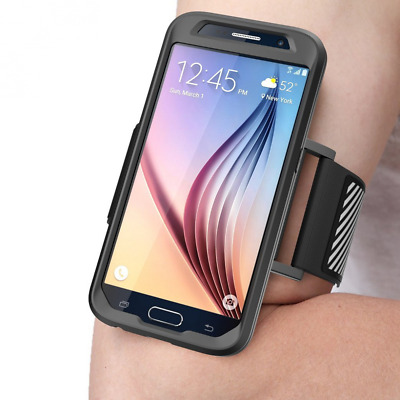 Galaxy S6 Armband, SUPCASE Easy Fitting Sport Running Armband with Premium Flexi