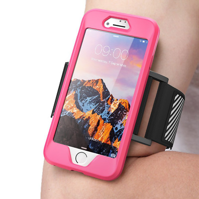 iPhone 8 Armband, SUPCASE Easy Fitting Sport Running Case iPhone 8 2017 (Pink)