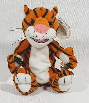 Coca Cola International Beanie Baby Collection 1999 Curry The Tiger India 0216